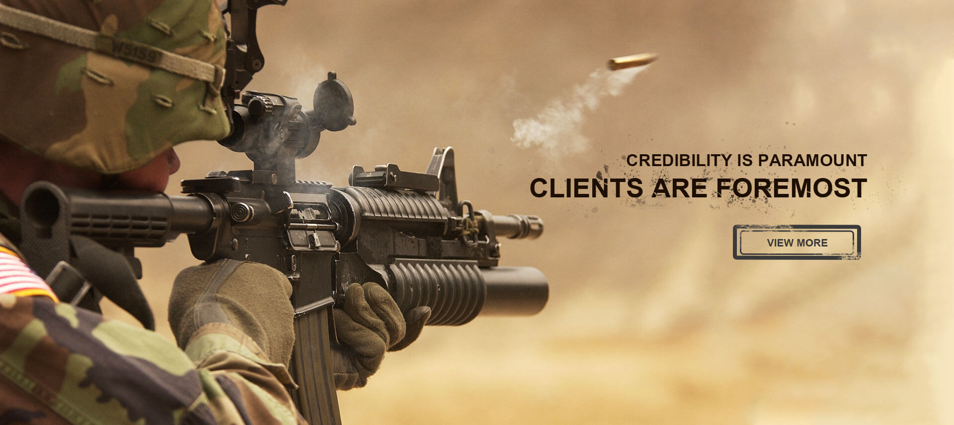 Credibility is paramount clients are foremost