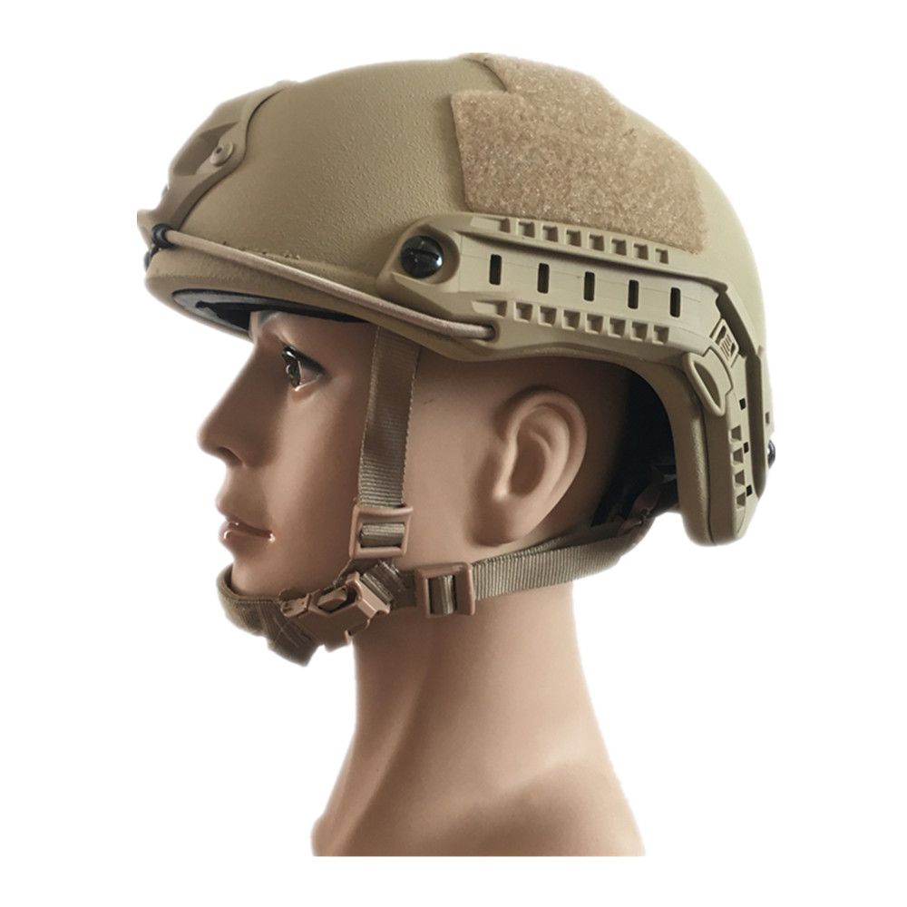 NIJ IIIA 3A 0106.01  High Cut XP Cut UHMWPE Kevlar Bulletproof Helmet