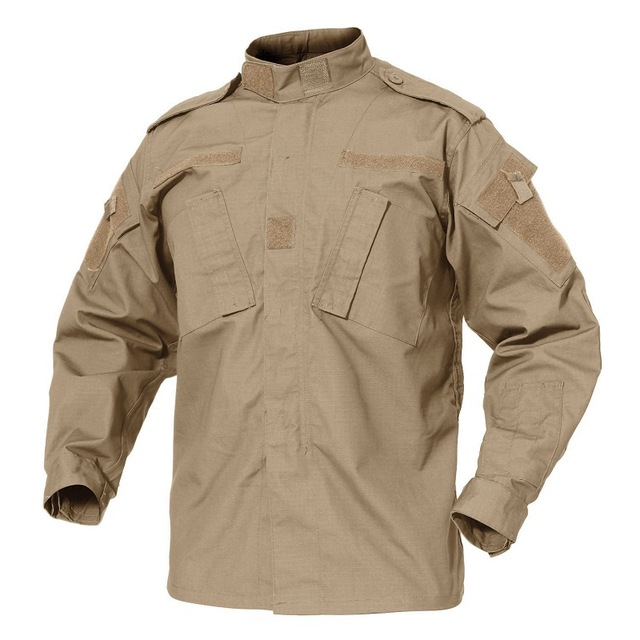 Army Military Jacket ACU Coat Camouflage Top Wear